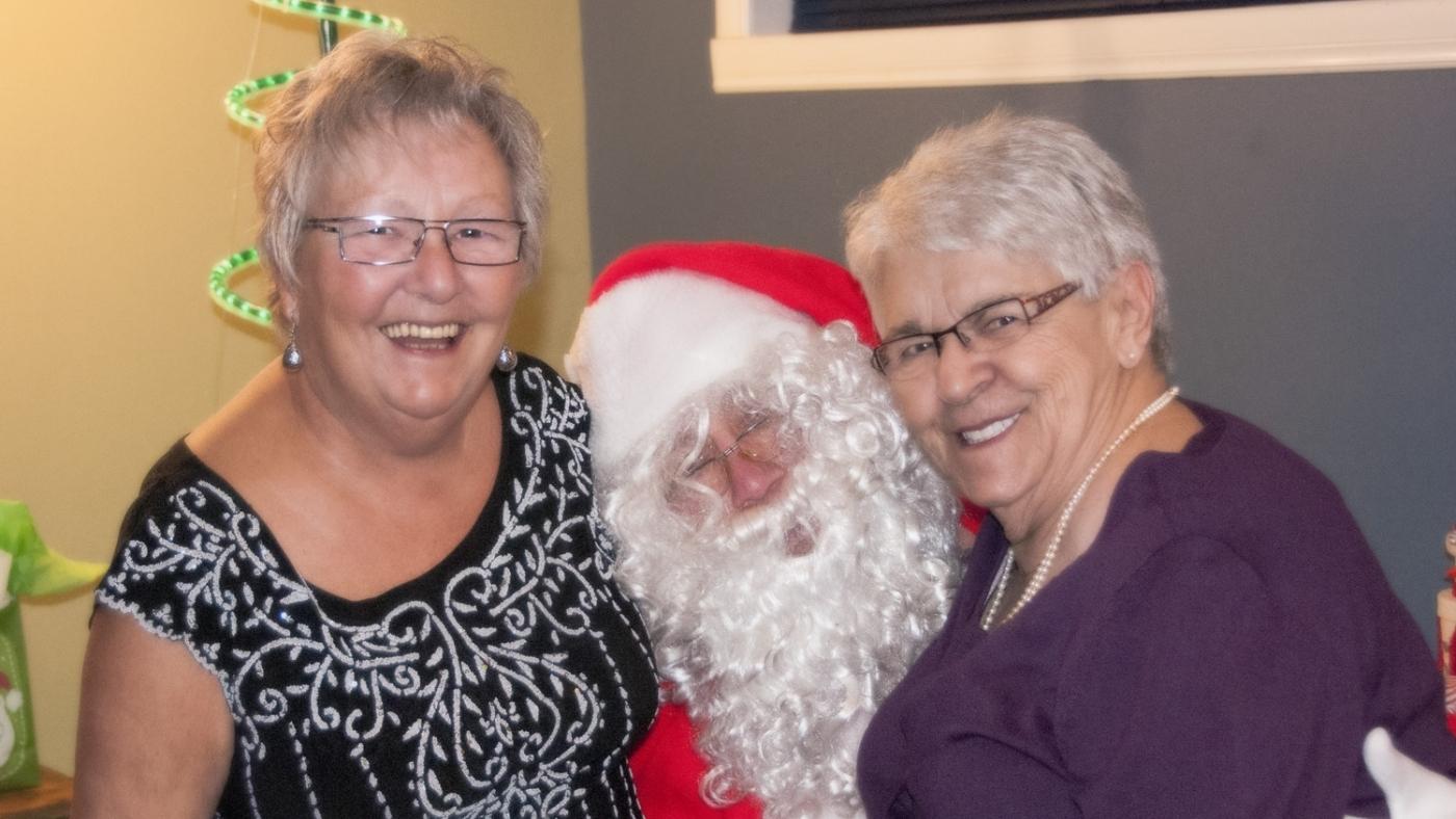 Mom, tante Denise et le Père Noël