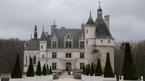_LEP1140 - l'entrée du château de Chenonceau