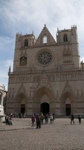 _LEP1249 - Lyon, la cathédrale Saint-Jean
