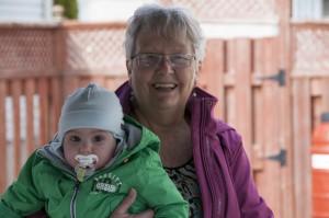_LEP1792 - Une arrière-grand-mère très heureuse!