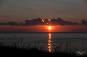 _LEP5680 - Un des beaux couchers de soleil qu'on a eu durant cette semaine!