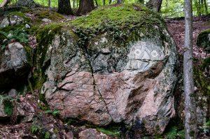 Dessin gravé sur la roche!